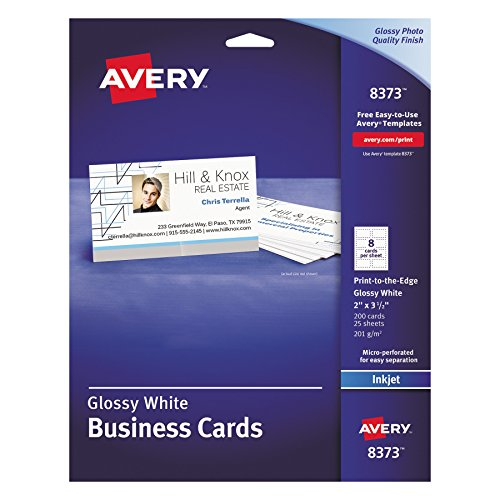 Avery 8373 Print-to-the-Edge Microperf Business Cards