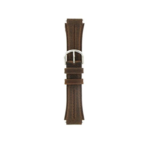 535dbc9f133 Watch Band 18mm Genuine Leather Nylon Sport Watchband Replacement ...