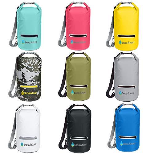 5L Dry Bag Sack Waterproof Dry Gear Bag for Boating Kayaking Rafting Red